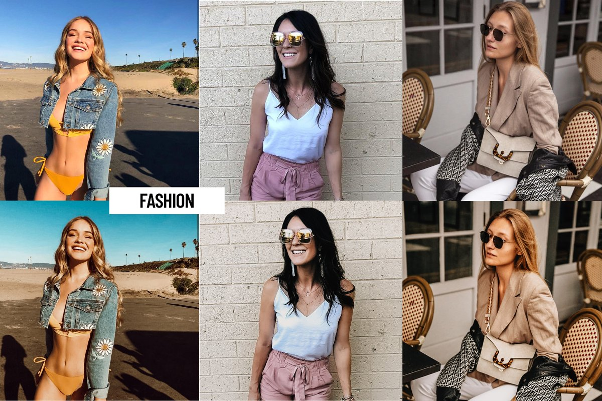 30+ Fashionable Lightroom Presets for Ultimate Styling