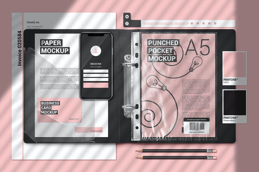 a5-papers-in-plastic-folder-scene-mockup
