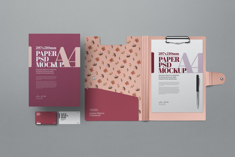 clipboard-folder-mockup-a4-stationery