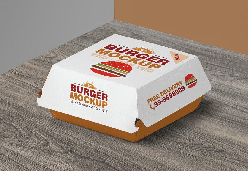 15 Burger Box Packaging Psd Mockup Templates Decolore Net