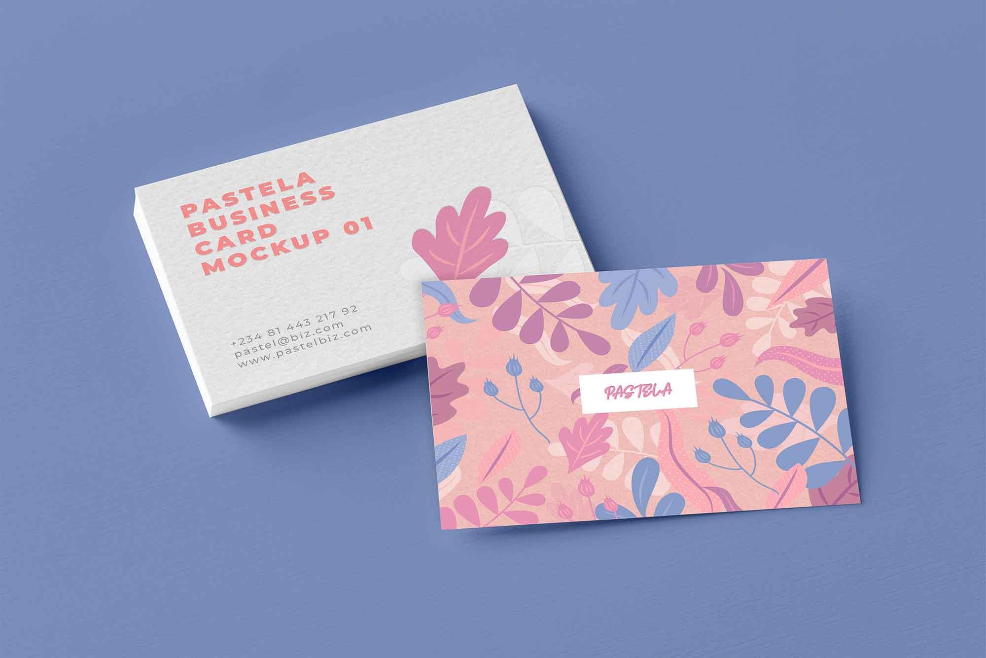 55 Business Card Psd Mockup Templates Decolore Net