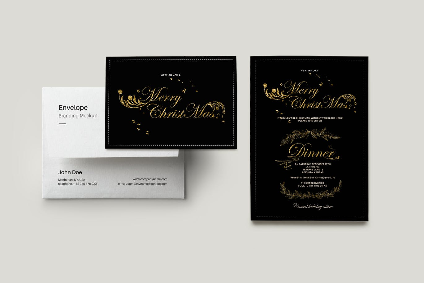 30 Stunning Christmas Invitation Card Templates Decolore Net