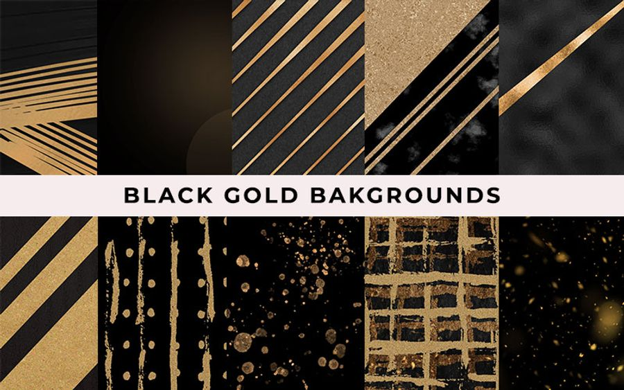 Black-gold-backgrounds