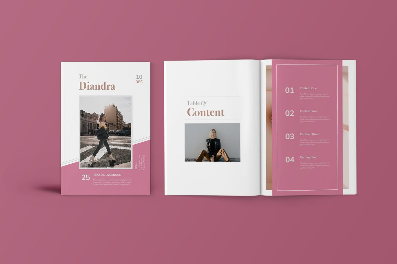 35 Gorgeous Fashion Lookbook Catalog Templates Decolore Net