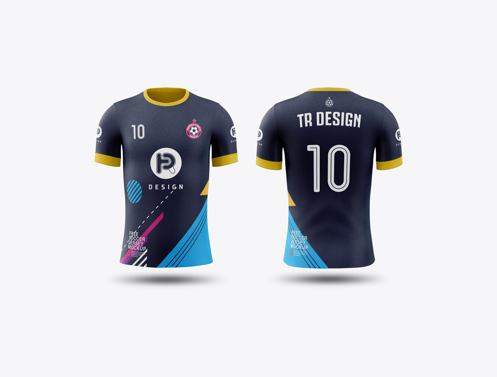 30 Attractive Sports Jersey Psd Mockup Templates Decolore Net