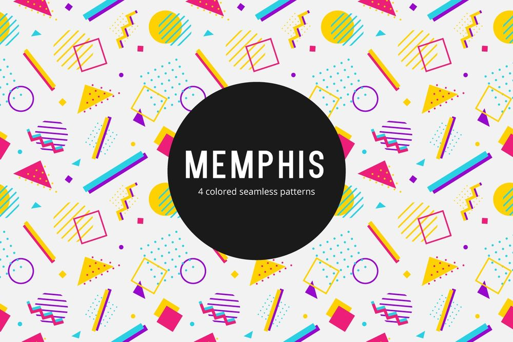 memphis-vector-free-seamless-pattern
