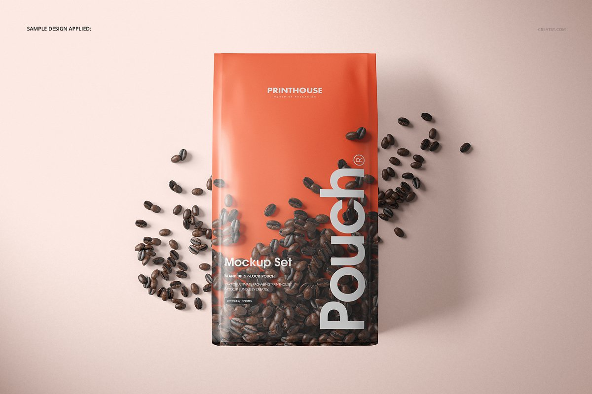 Download 55 Realistic Pouch Packaging Mockup Templates Decolore Net