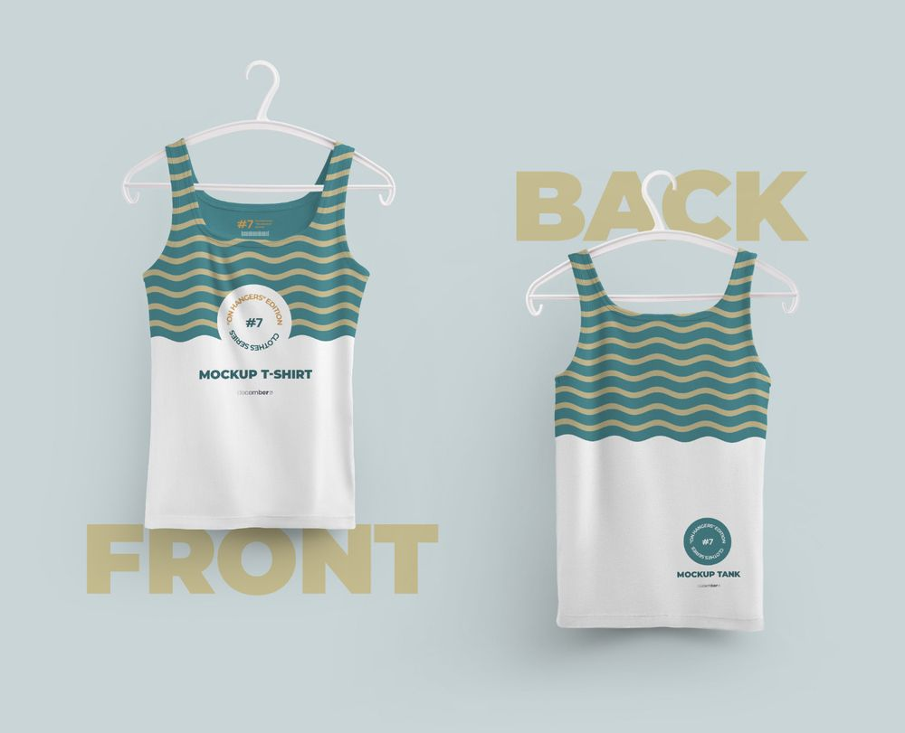 2-mockups-tank-top-with-6-different-hangers