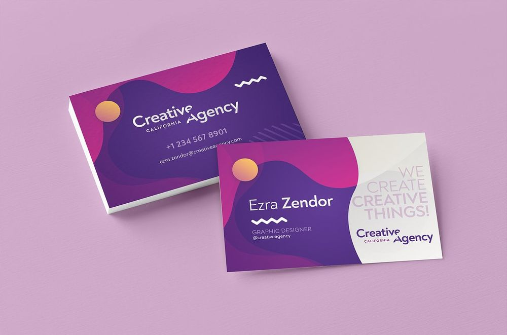 Fancy-Geometric-Business-Card