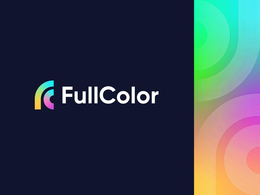 Thiết kế logo gradient