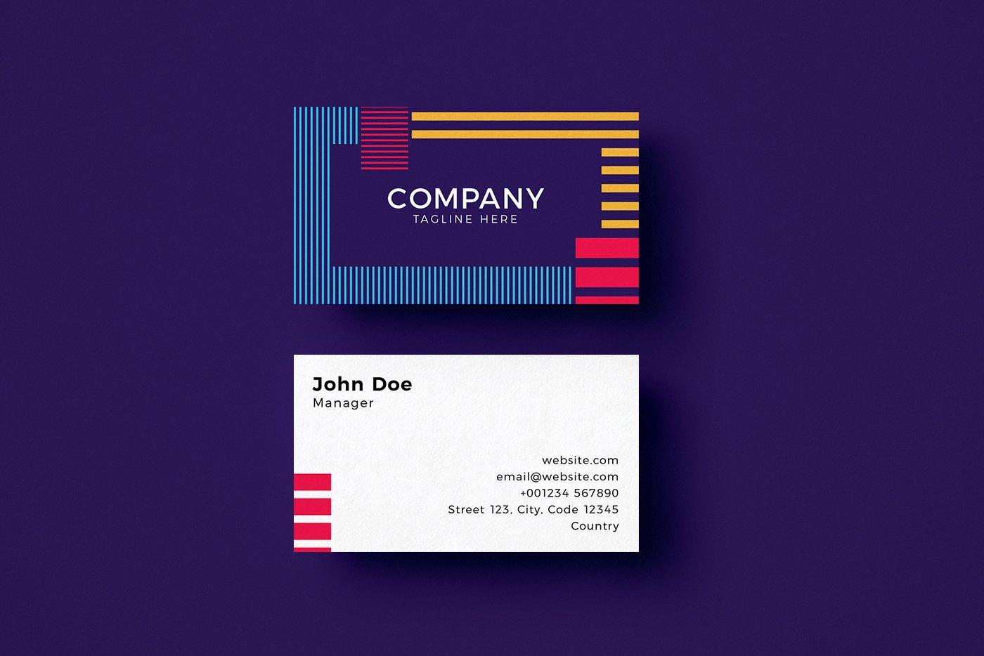 Geometric-Business-Card-Template