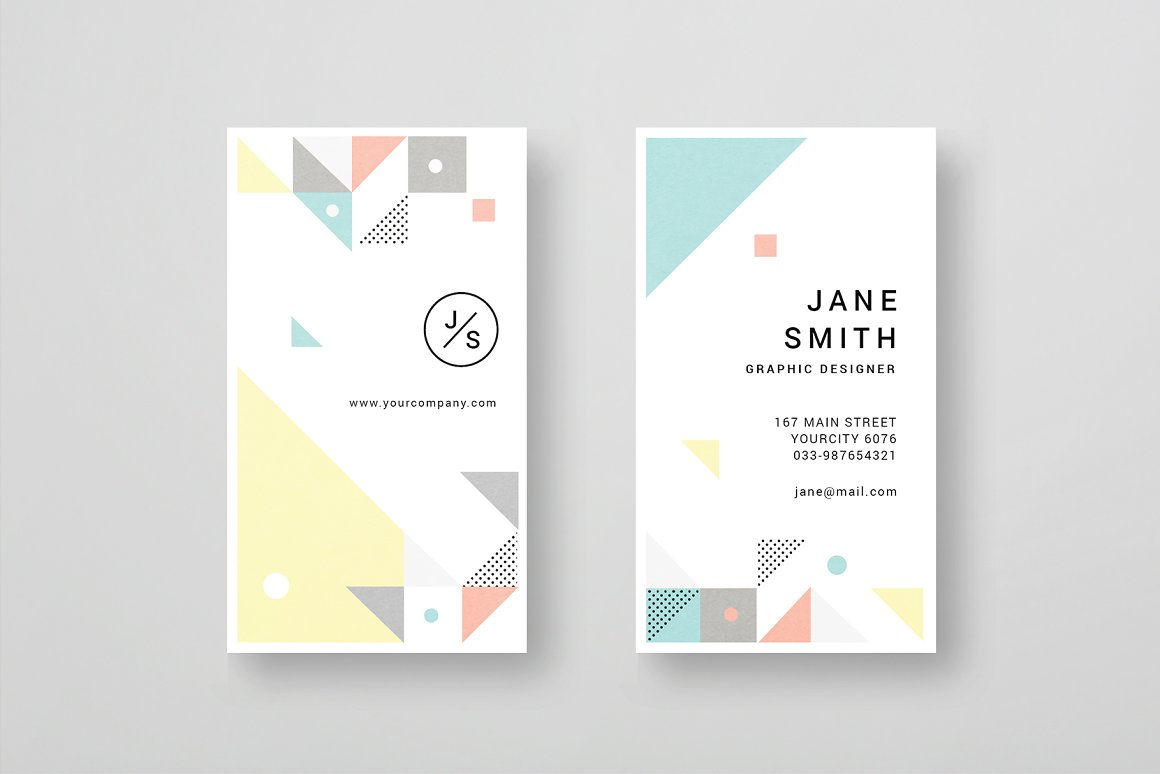 Geometric-Business-Card