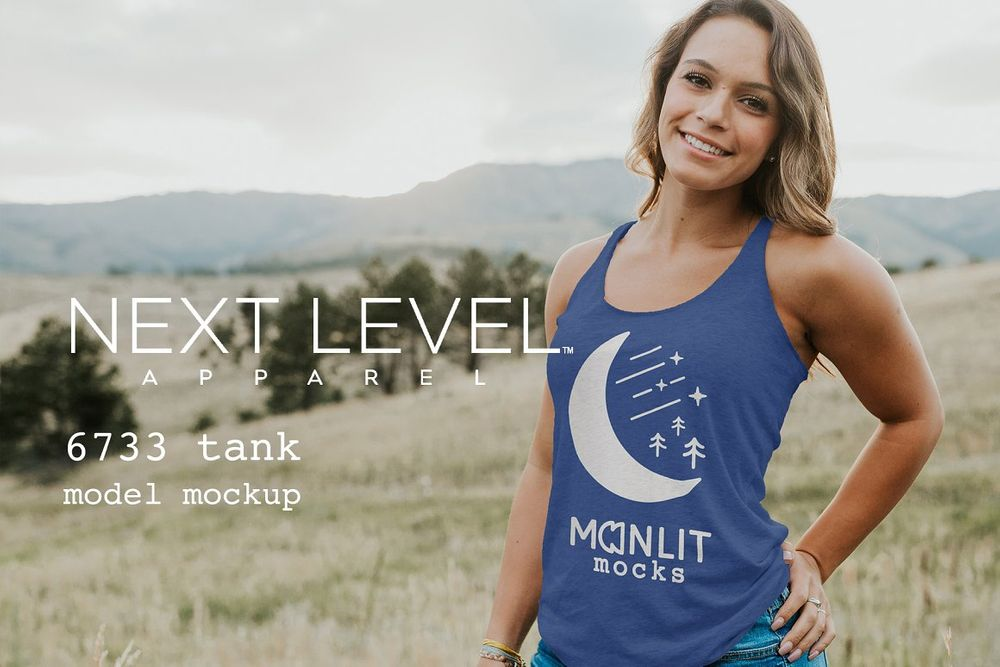 Next-Level-Racerback-Tank-Mockup