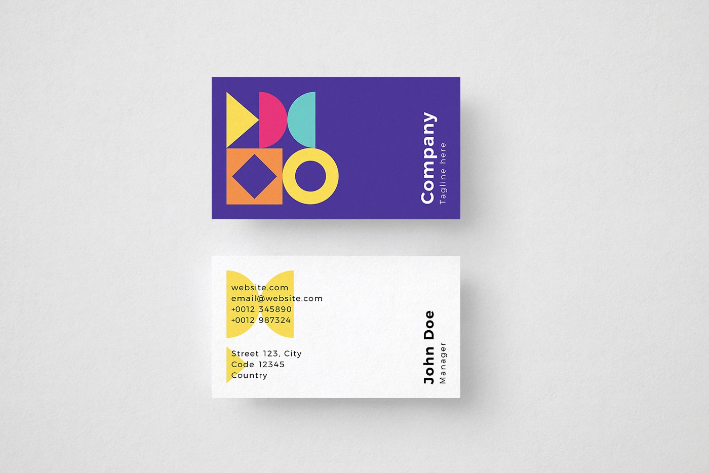 Vivid-Business-Card-Template