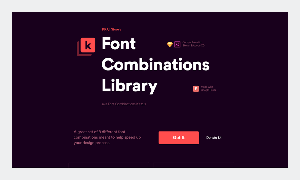 font-combinations-library