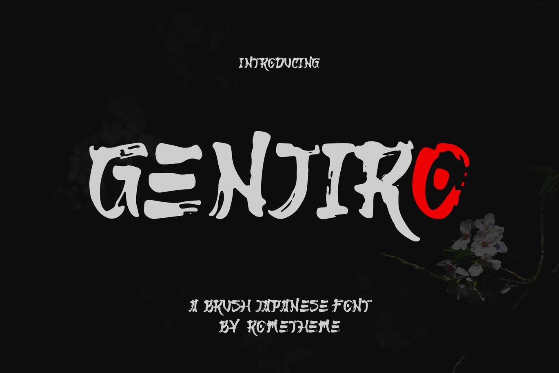 genjiro-japanese-font-yr