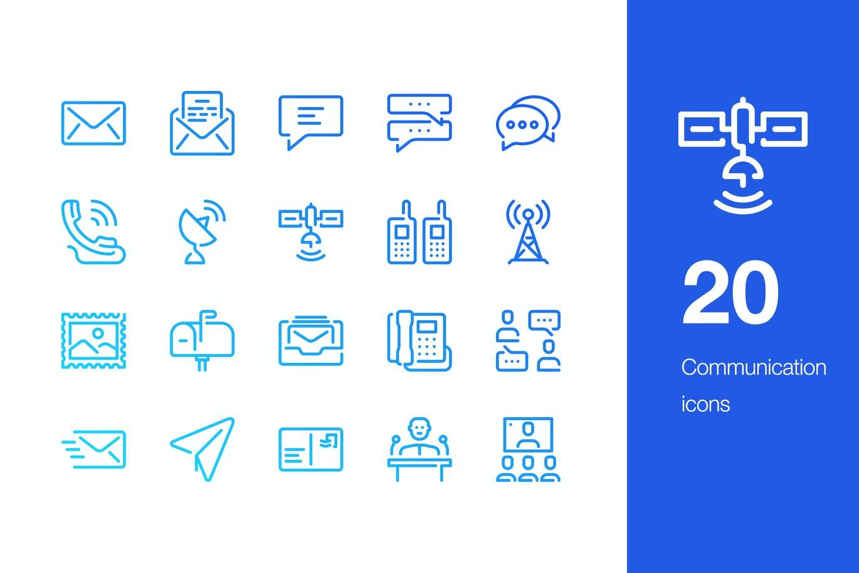 20-communication-icons