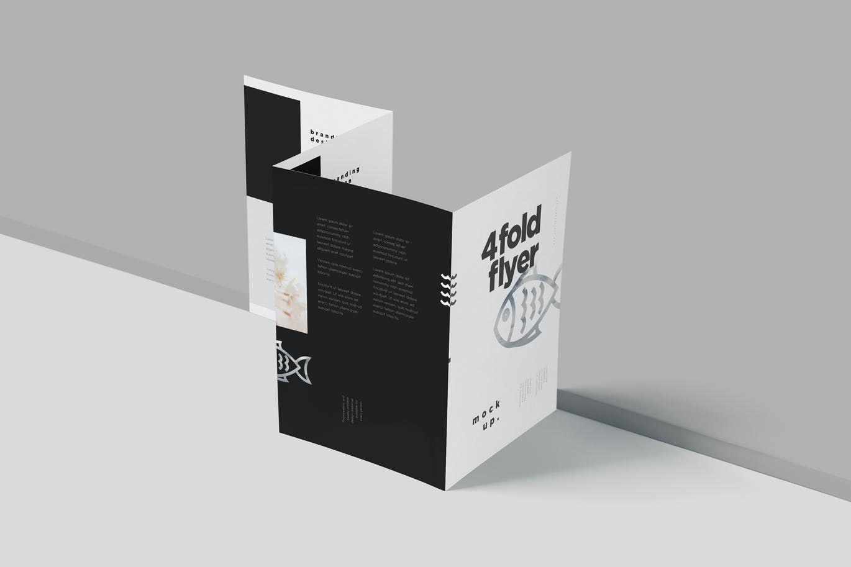 4-fold-a5-flyer-mockups
