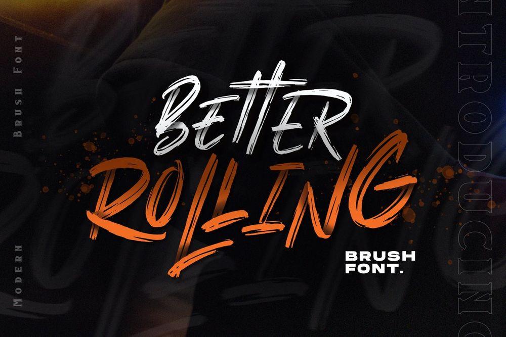Better-Rolling-Brush-Font
