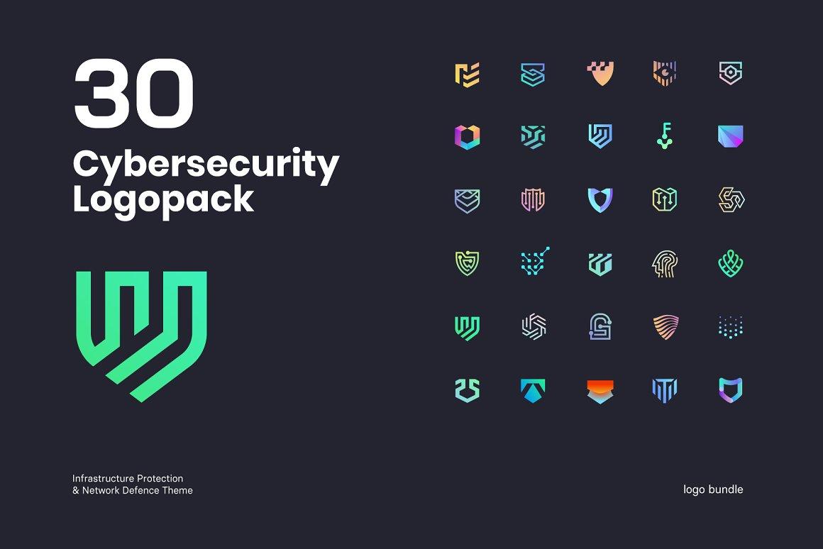 Cybersecurity-Logo-Bundle