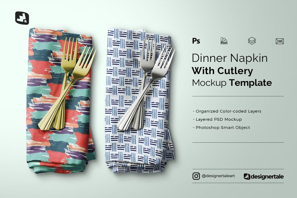 Dinner-Napkin-With-Cutlery-Mockup