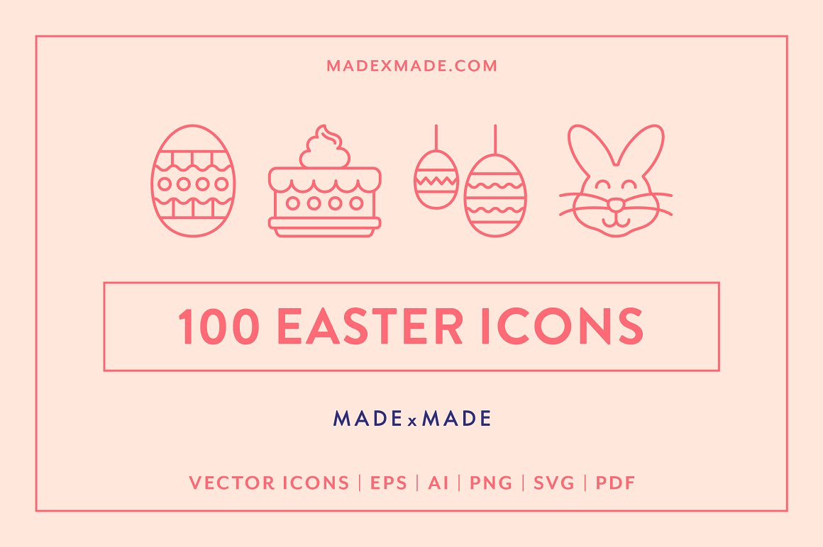 Easter-Line-Icons