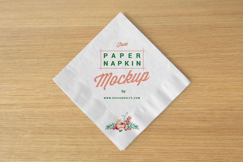 Free-Table-Paper-Napkin-Mockup
