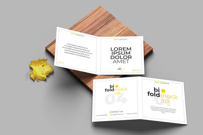 Square-Bifold-Brochure-Mockup