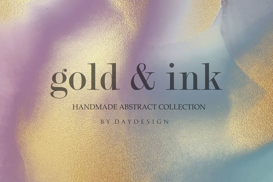 alcohol-ink-gold-handmade-collection