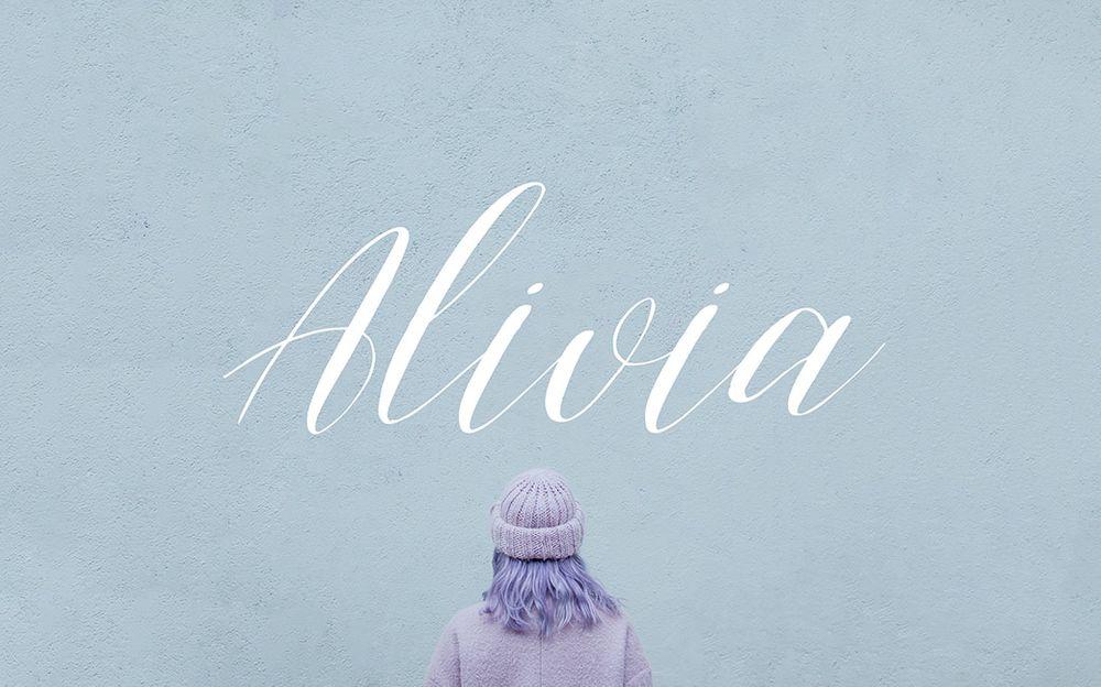 alivia-script-font-free