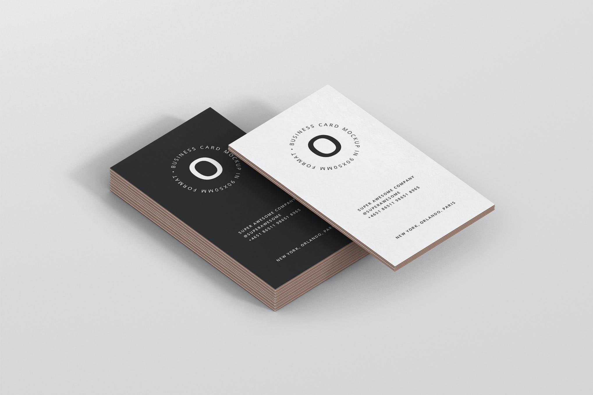 business-card-stack-mockup-90×50-format