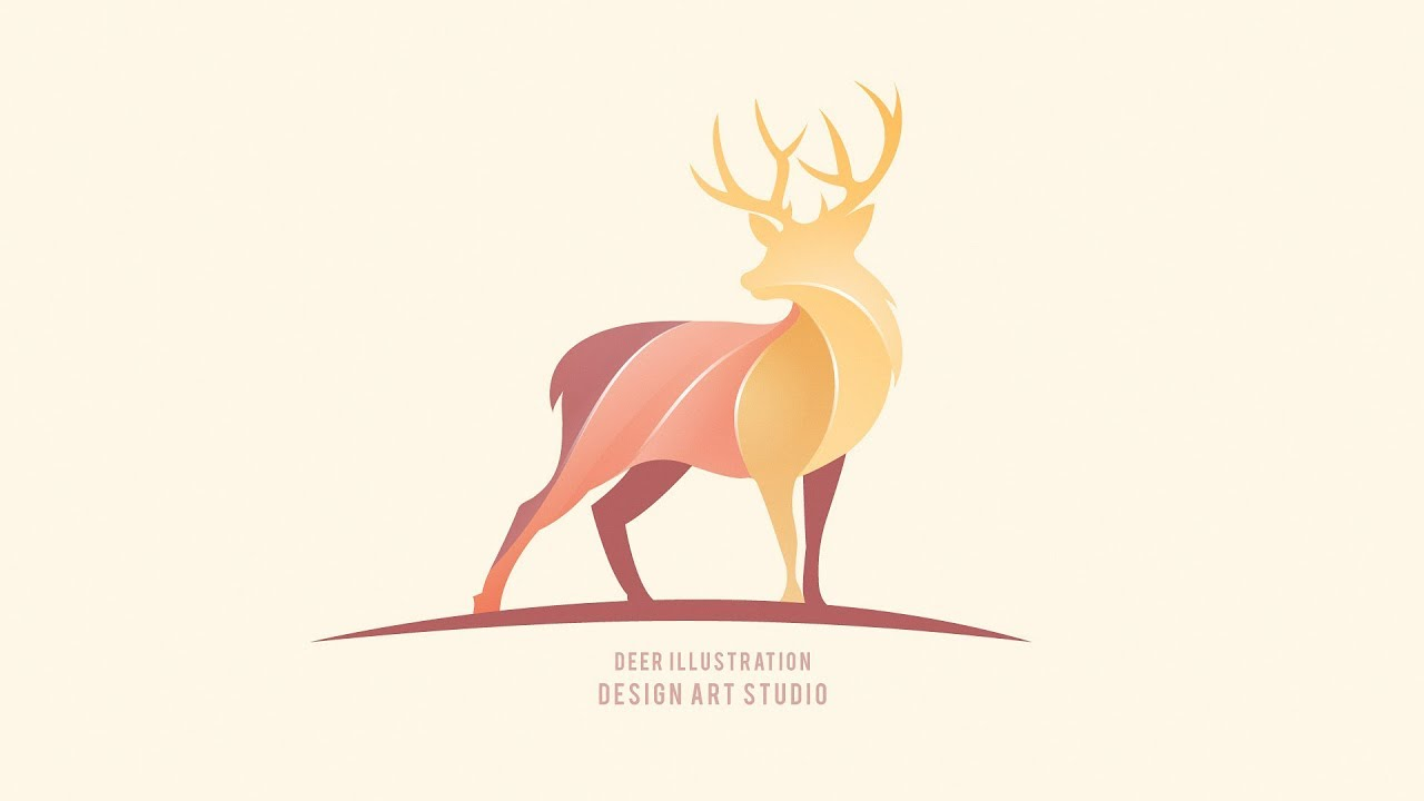 deer-logo-design-adobe-illutsrator-cc