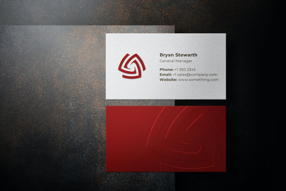 embossed-business-card-with-shadow-creator