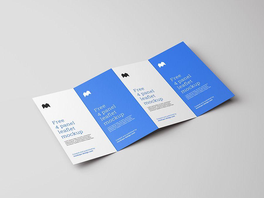 free-4-fold-leaflet-mockup