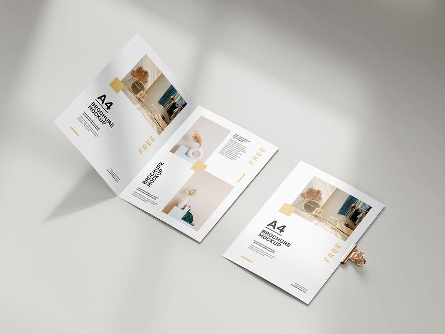 free-folded-a4-brochure-mockup