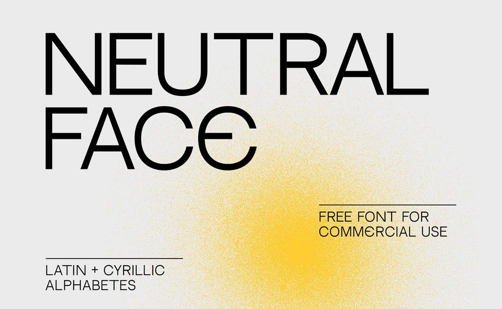 free-neutral-face-font