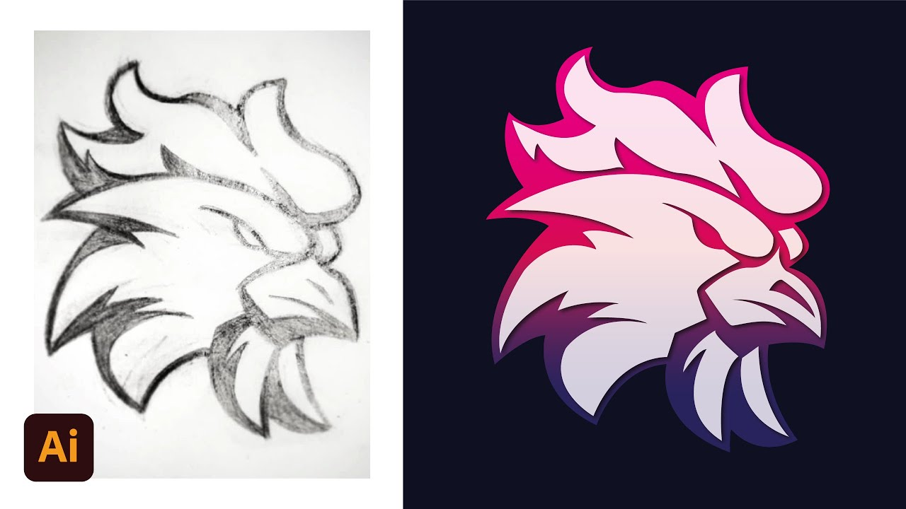 how-to-vector-logo-from-sketch-in-illustrator-tutorial