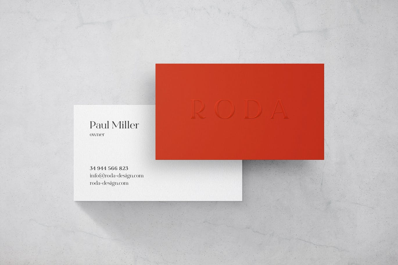 marble-business-card-mockup