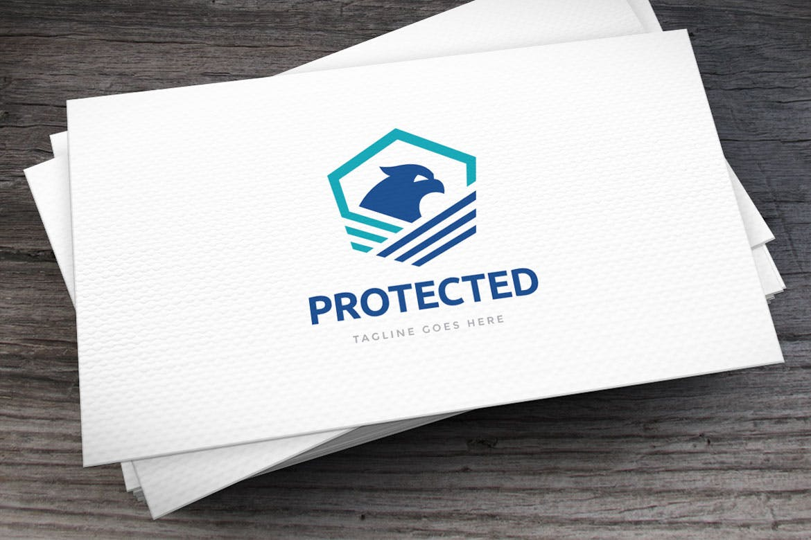 protected-logo-template