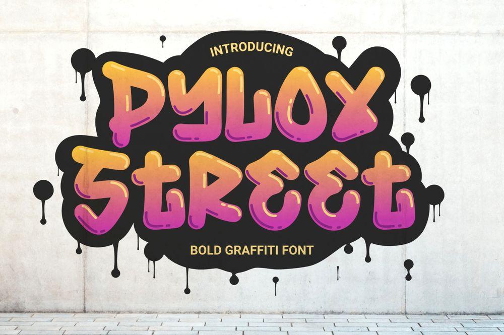 pylox-street-font
