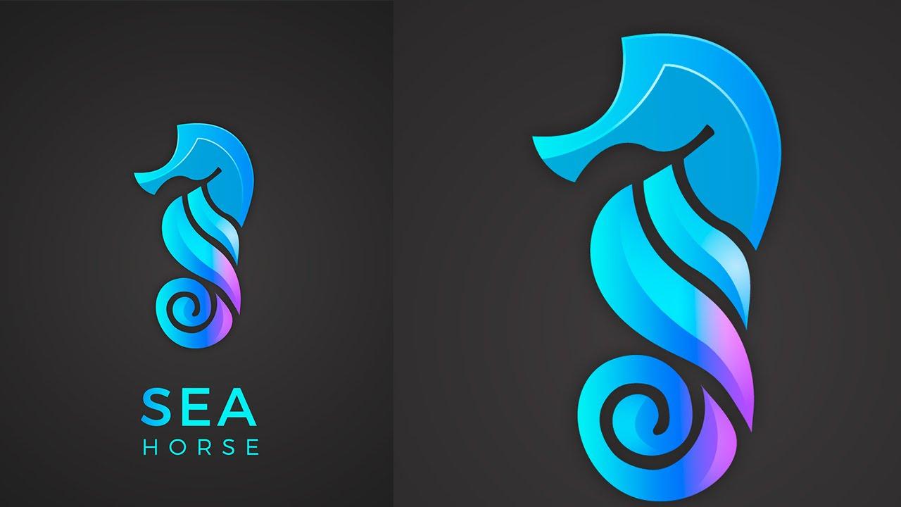 sea-horse-logo-adobe-illustrator-tutorials