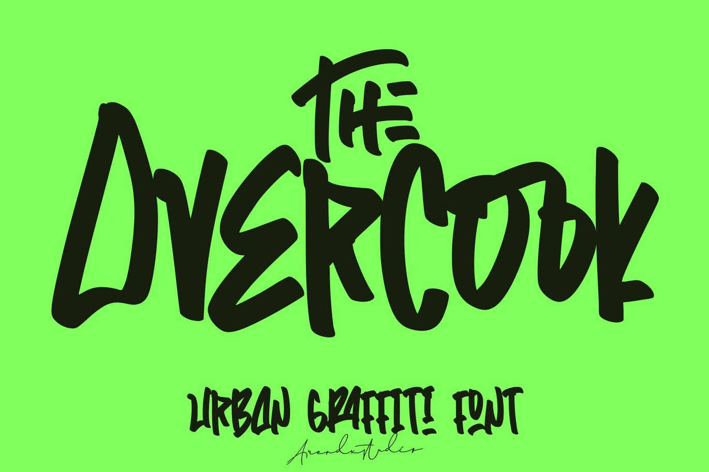 the-overcook-graffiti-font