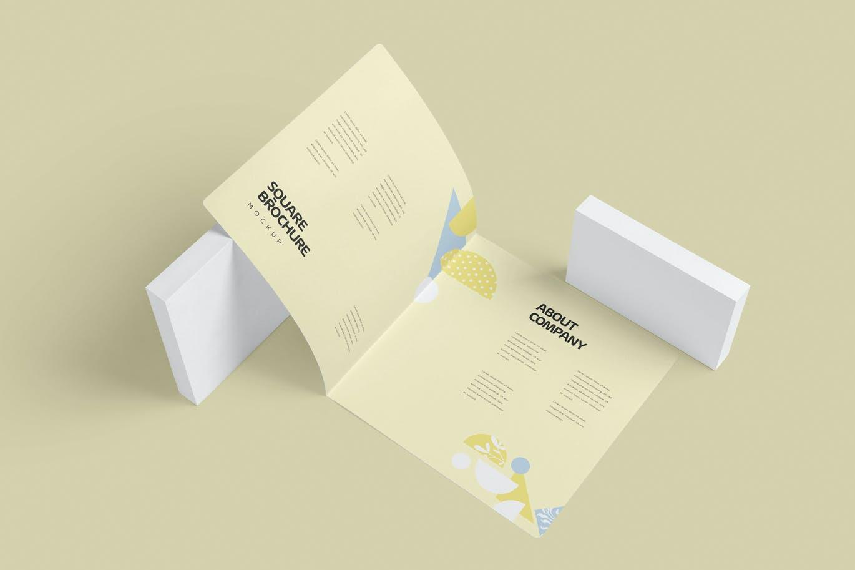 two-fold-square-brochure-mockups