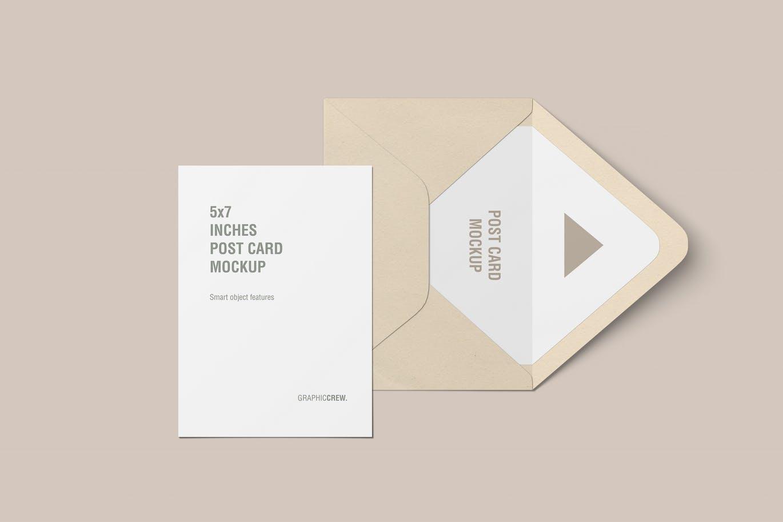 vertical-postcard-and-envelope-mockup