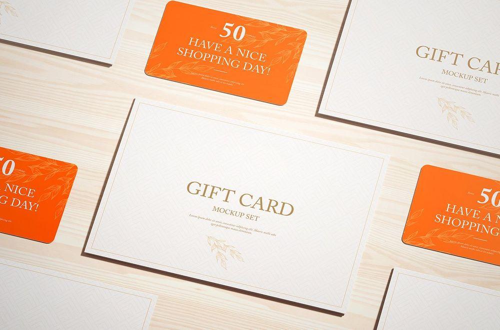 Gift-Card-Mockup-Set