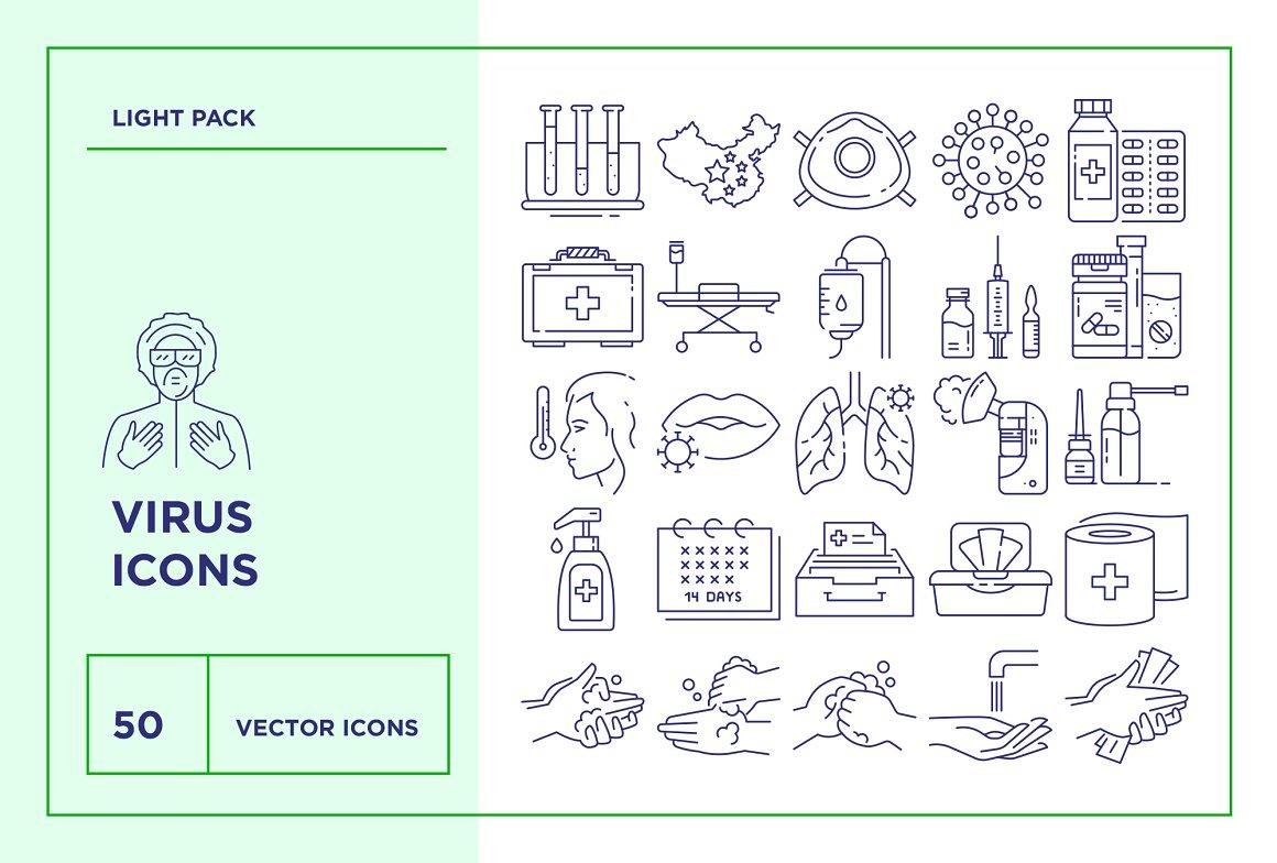 Pandemic-Icons-Set