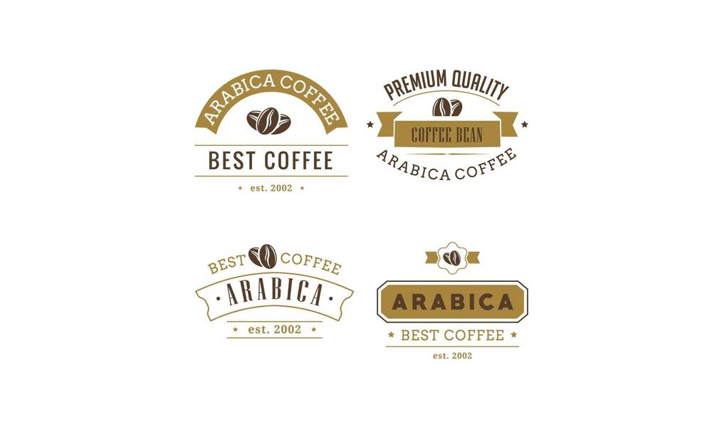 coffee-badges-set