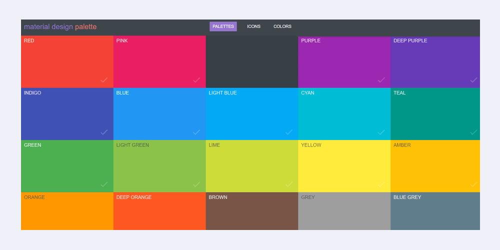 material-design-palette
