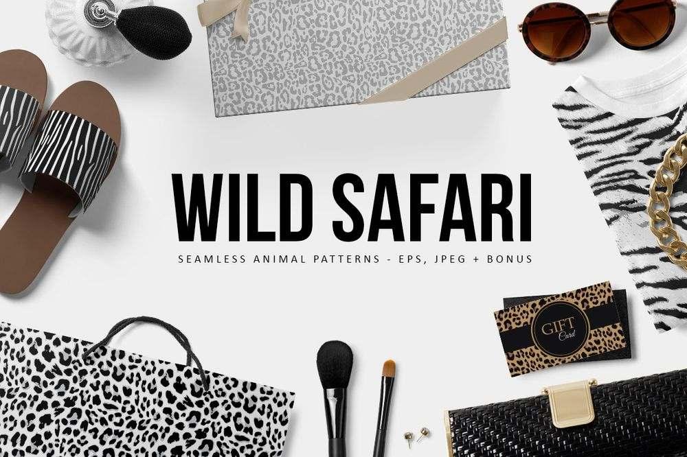 wild-safari-animal-leopard-patterns-set