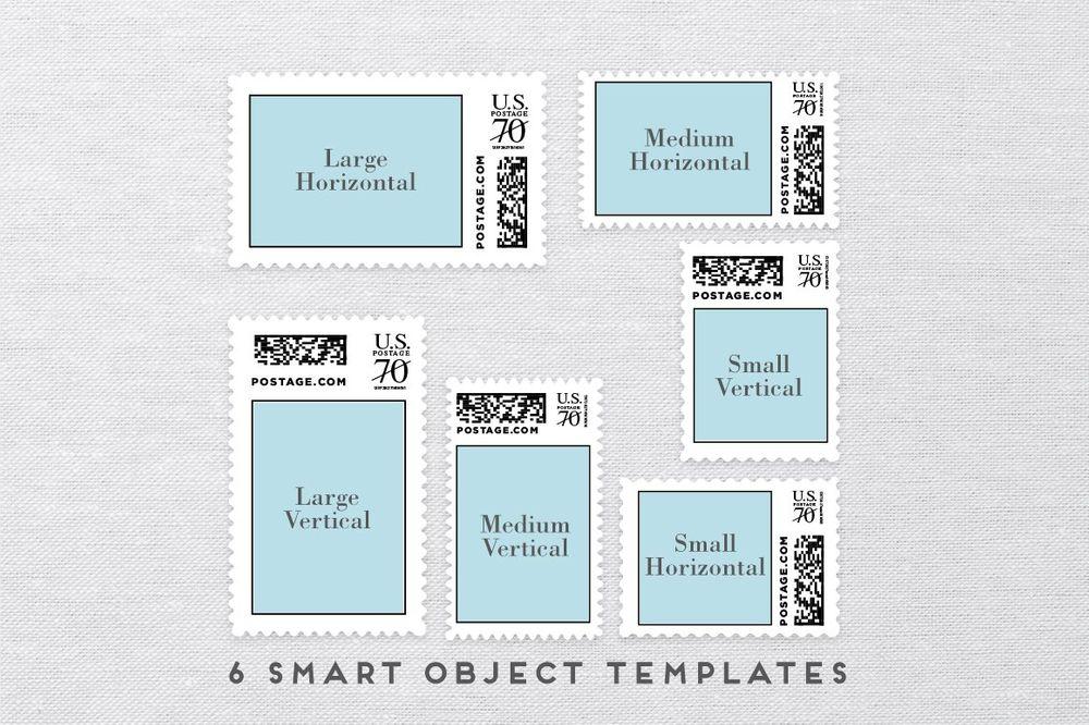 Custom-Postage-Stamp-Template